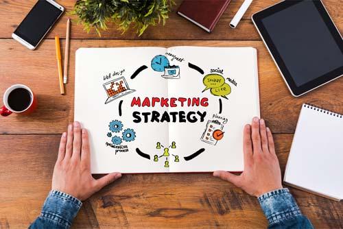 die Online Marketing Strategie beschreibt mit welchen Mitteln Du Dein Ziel erreichen möchtest.